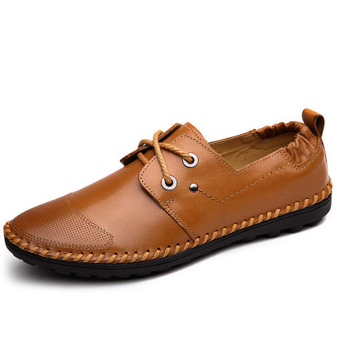 Genuine Leather Fashion Breathable Men Loafers
