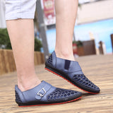 Breathable Mesh Holes Loafers - Offy'z6