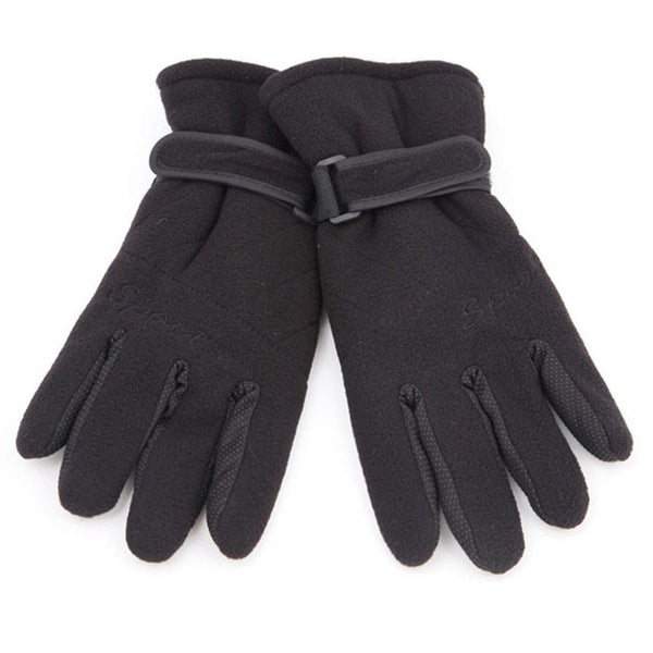 Three Layer Man Woman Aotu Cycling Gloves Thickening Windproof Soft bike Gloves Outdoor Winter Warm Unisex Wrist Mitten