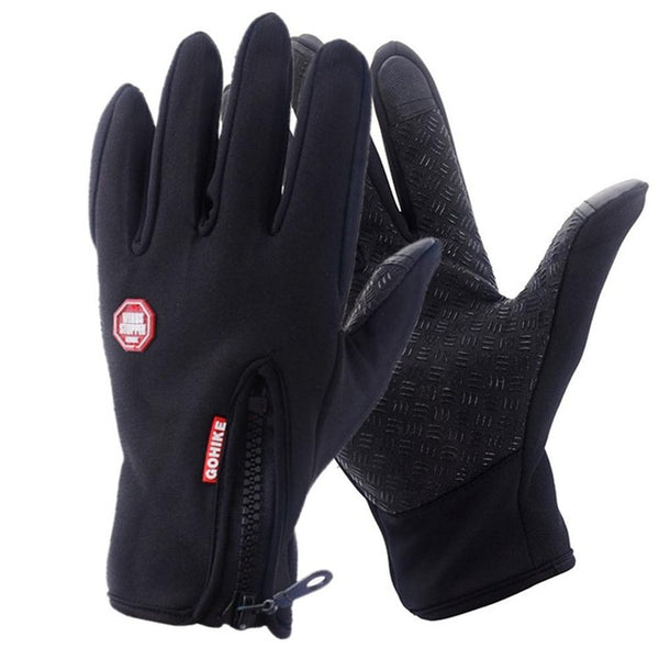 Unisex Waterproof Winter Touch Screen  Outdoor Sport Gloves