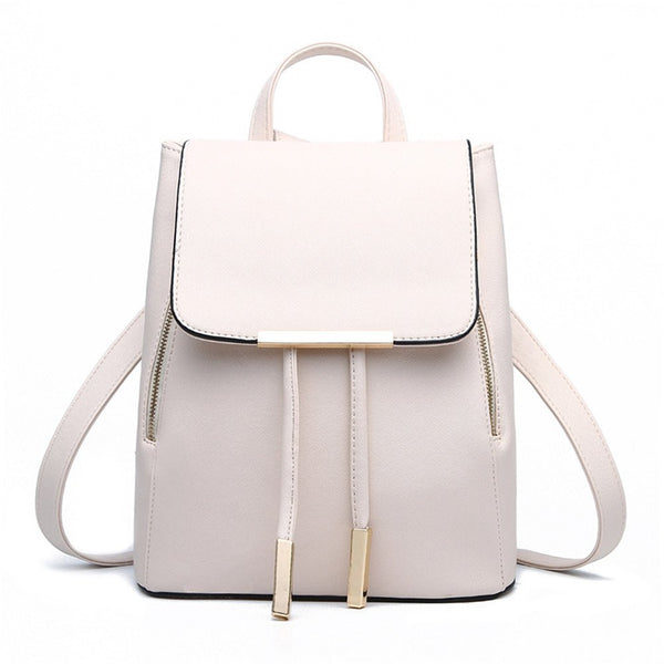 School of Fashion Leather Bag