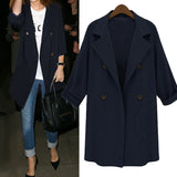 Loose Trenchcoat Jacket - Offy'z6