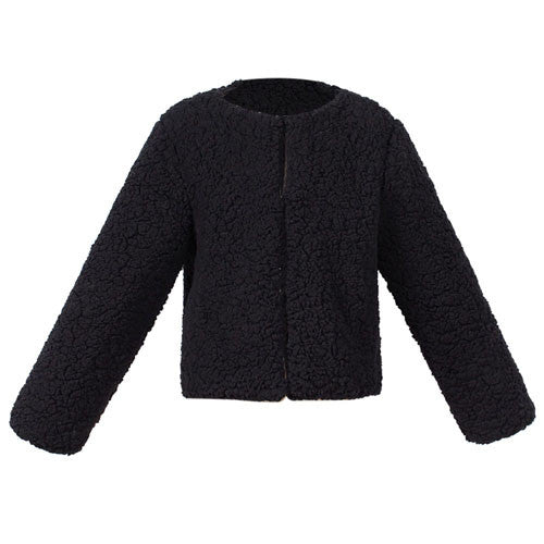Kid's Faux Cashmere Coat Jacket