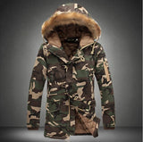 "Large Size Winter Camouflage Coats ""Men's"" - Offy'z6"