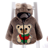 Baby Hooded winter coat - Offy'z6
