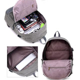 Canvas Anti Theft Travel Backpack - Offy'z6