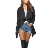 Casual Loose Solid Jacket - Offy'z6