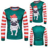 Men's Xmas Doggy Print Long Sleeve - Offy'z6