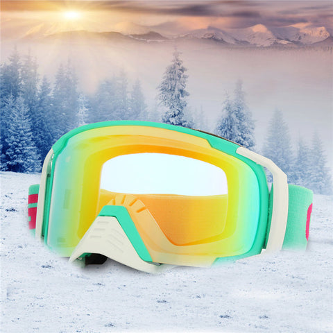 Anti-fog Snow Goggles