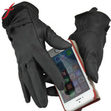Women's Soft Leather Gloves - Offy'z6