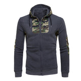 Camouflage Hooded Sweatshirt - Offy'z6