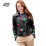 Women's Elegance  Leather Jacket/Coat - Offy'z6