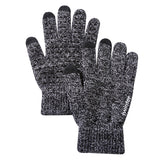 Screen Knitted Patchwork Gloves - Offy'z6