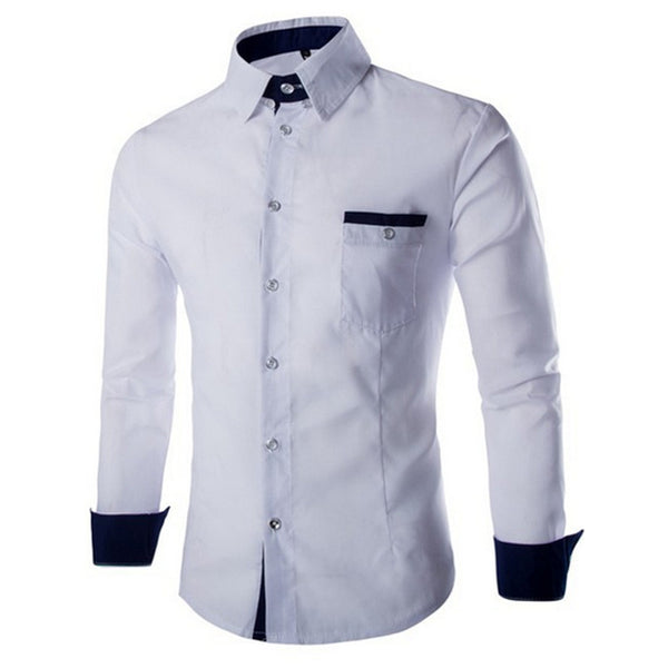 Long Sleeve Eloquent Fashion Dress Shirt