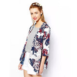 Women's Cotton flower Jacket - Offy'z6