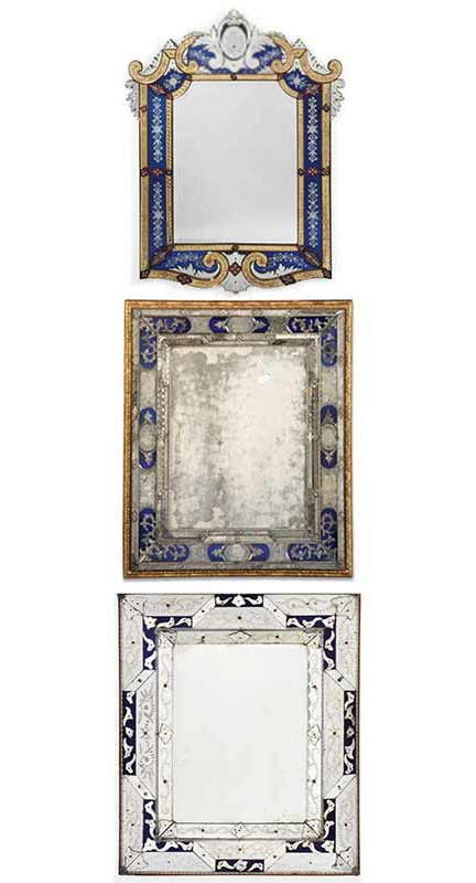 the history of decorating with mirrors