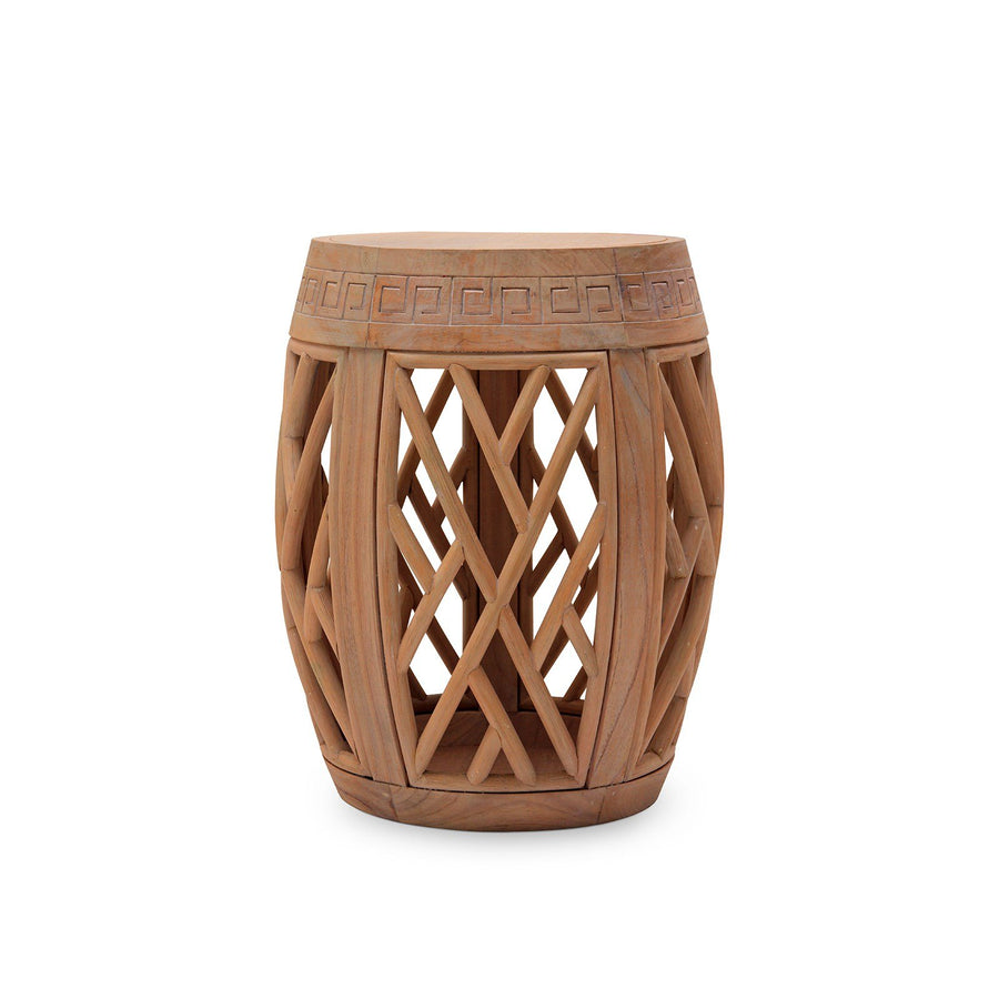 Ethnic photo of bungalow 5 horizon chinoiserie side table limed mahogany matte natural horizon geotapseo Gallery