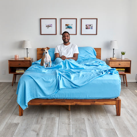 our eucalyptus sheets are sustainably made