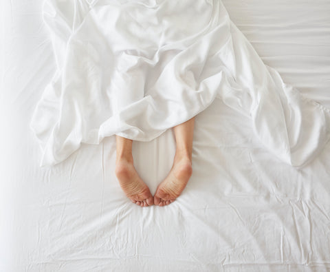 eucalyptus sheets are cooling and will help with your sweaty sweaty night sweats