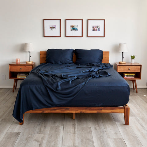 these aren't jersey sheets, they're eucalyptus sheets - just as soft, low maintenance, and wrinkle-resistant, but also made sustainably