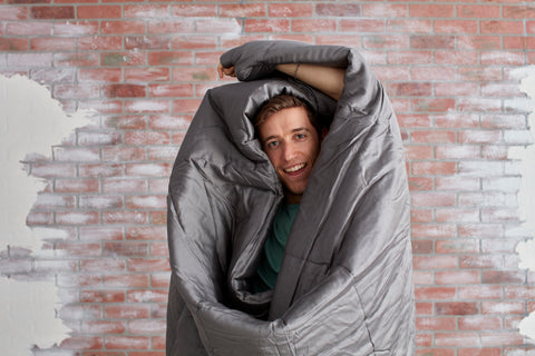 sheets & giggles 100% eucalyptus comforter in charcoal grey