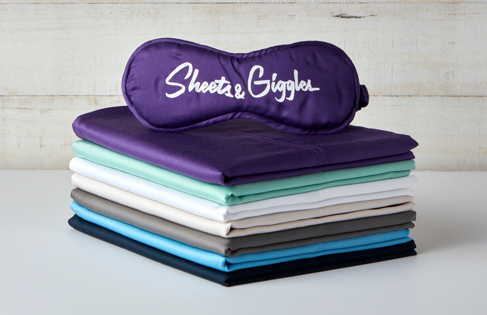 Thick elastic runs all the way around fitted sheets for a more secure fit.