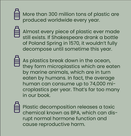 plastic is environmentally tragic