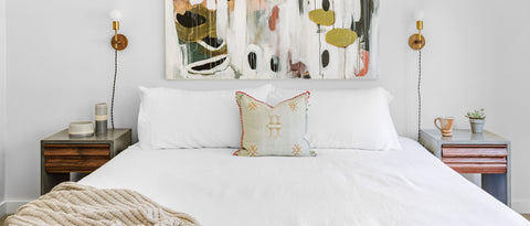 simple pillows bedroom