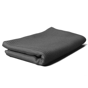 Grey / Gray Eucalyptus Lyocell Throw Blanket (not Tencel)