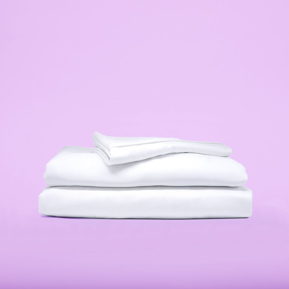 Eucalyptus Lyocell Sheet Sets - White