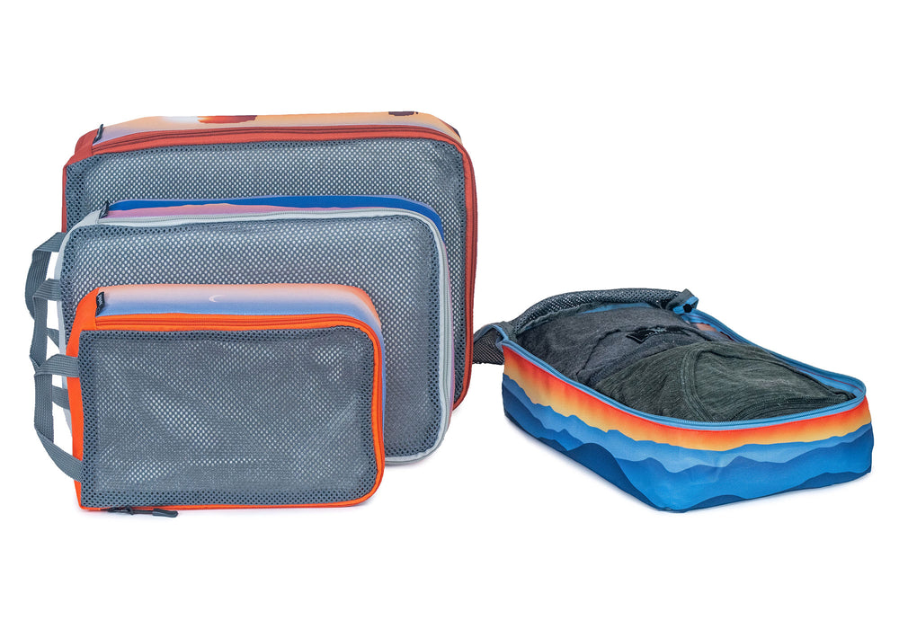 National Parks Mesh Packing Cubes Set