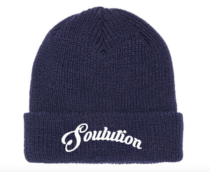 Soulution Navy Blue Beanie