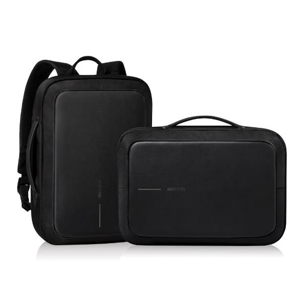 Bobby Bizz anti theft backpack & briefcase negro mochila o portafolios