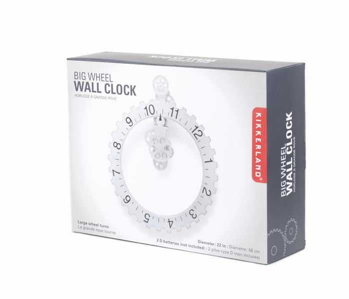 Reloj Engranes de Pared