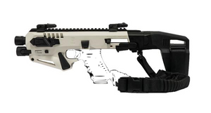 Micro Roni Advanced Kit with Stabilizer WHITE Fits NO NFA REQUIRED