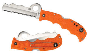 SPYDERCO ASIST ORANGE WITH GLASS BREAKER