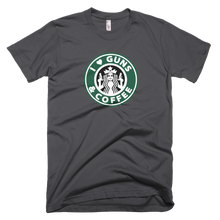 Guns and Coffee Short-Sleeve T