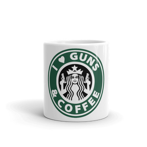 Guns and Coffee Mug made in the USA