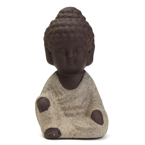 Statues Mini Bouddha - 4 couleurs disponibles