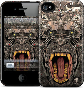 To See, To Hear, To Speak I iPhone Case