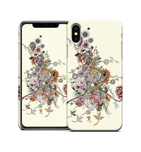 Chaos Bloom Spring Irritation iPhone Case