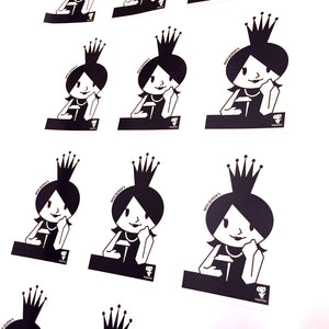 Sticker Miss Queen's