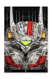 "20x30"" Limited Edition Heroes & Villains: VF-1J"