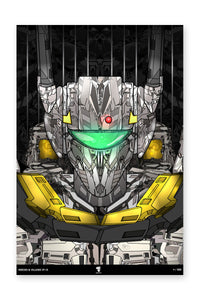 "20x30"" Limited Edition Heroes & Villains: VF-1S"