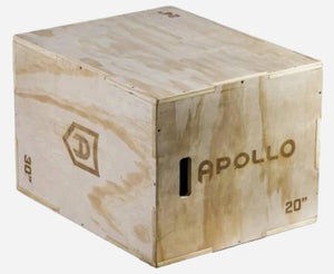 Apollo  Wooden Jump Box 3in1