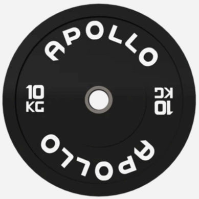 Apollo  Black Bumper Plates