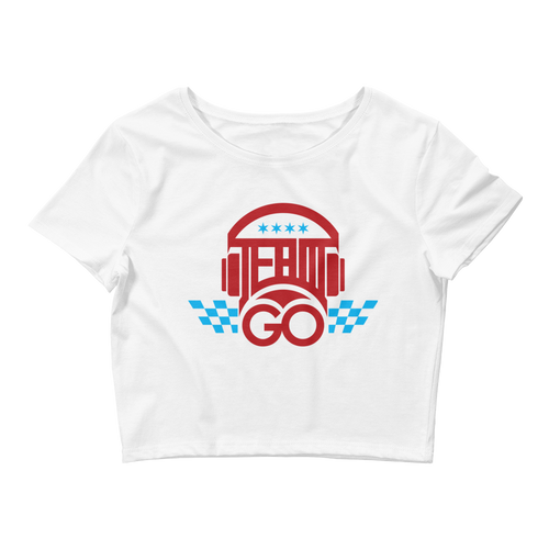 #TEAMGO Women's Crop Tee
