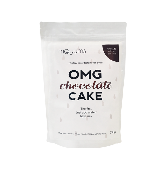 Moyums - Chocolate Cake - Healthy Bake Mix Australia