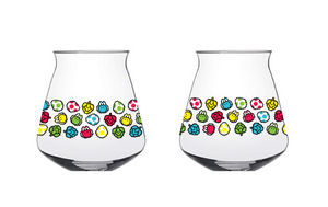 "Glass #40 ""All Yoshi Everything"" STEMLESS TEKU Pre-Order (Shipping mid Dec)"
