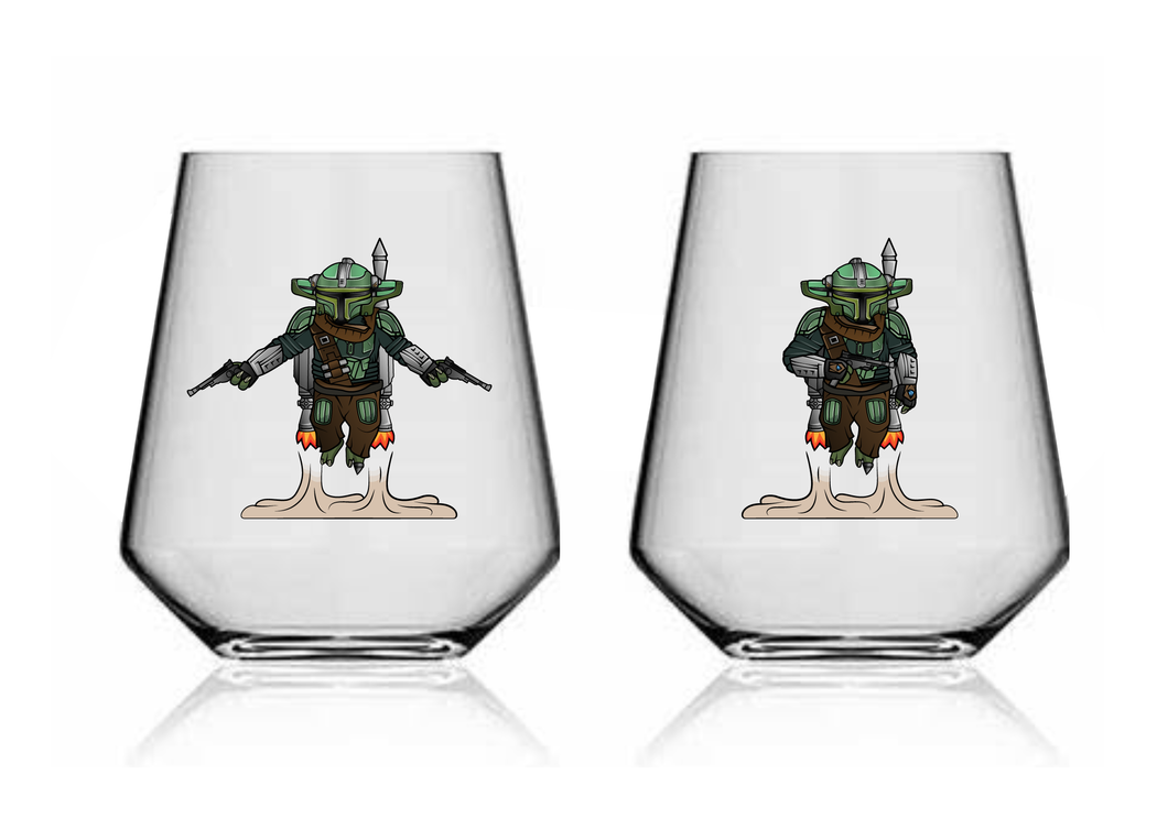 Glass 107 'Grogu Fett